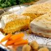 Mandľovo-mrkvová  torta