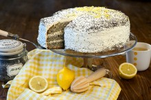 The combination of a whole lemon poppy is perfect. Just as well the cake, which...