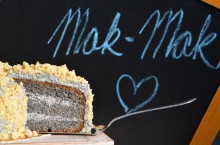 Cake without a single gram of flour- it is replaced with the  quality poppy . Poppyseed...