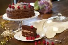 70% belgian chocolate, fresch raspberries, quality jam and lots of...