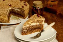 Inspiration for this cake campe from the recipe of grandma. We baked this beautiful,...