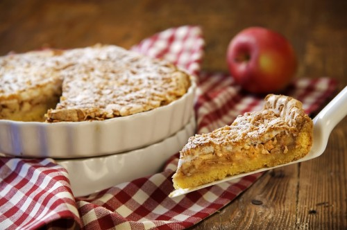 Grófkin jablkový koláč