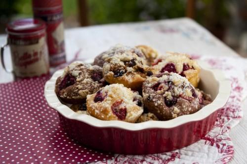 Mini koláčiky s ovocím